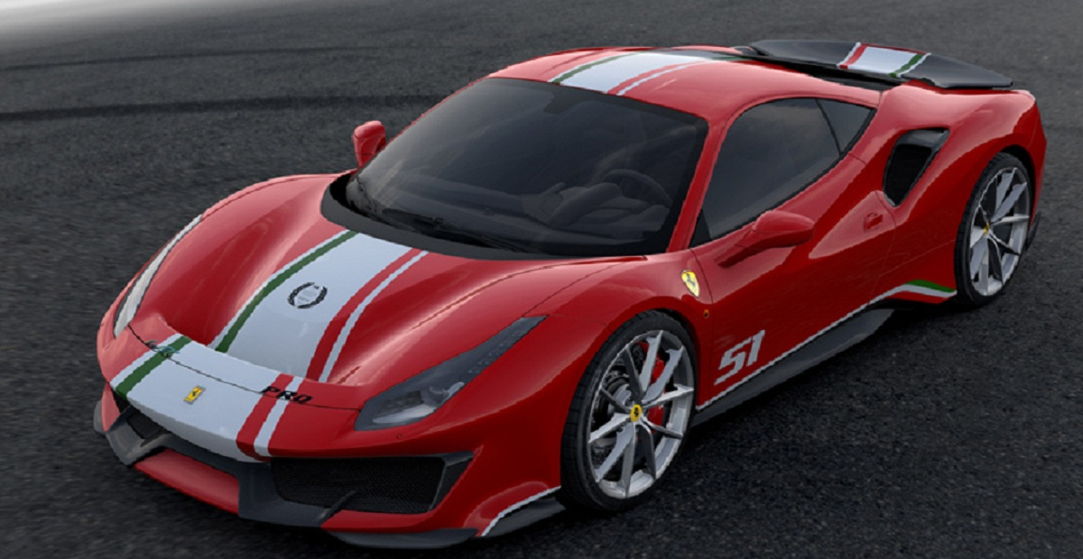 ВЛе-Мане представят специальную версию Ferrari 488 Pista Piloti