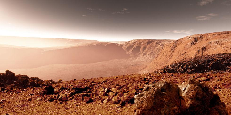 Аппарат Curiosity отыскал таинственный каменный круг наМарсе