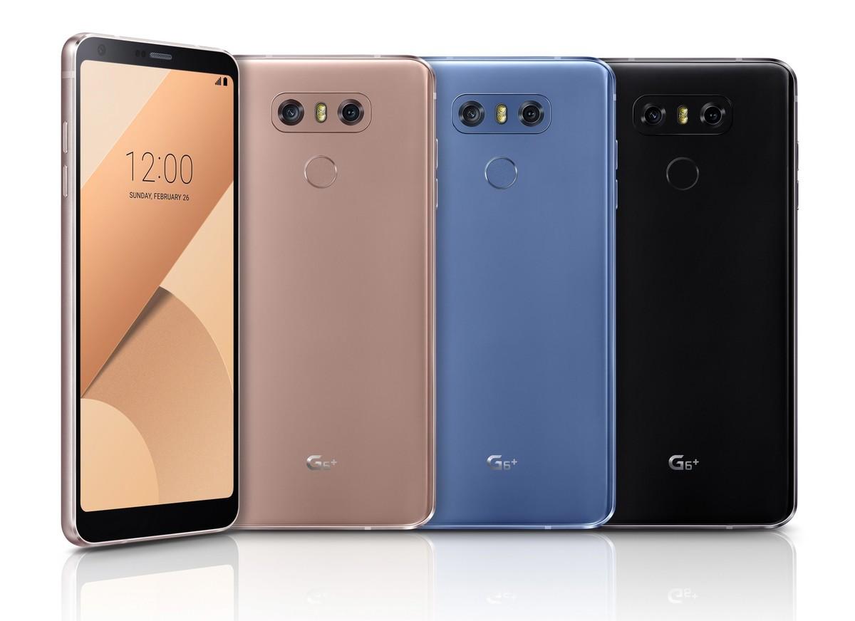 Компания LG анонсировала G6+ и G6 с вдвое уменьшенной памятью