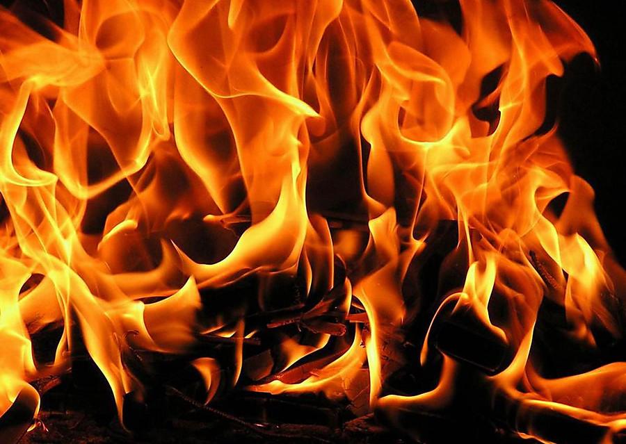 Вовремя пожара вНовотроицке умер мужчина