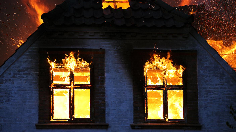 ВНижегородской области 58-летний мужчина умер впожаре вдачном доме