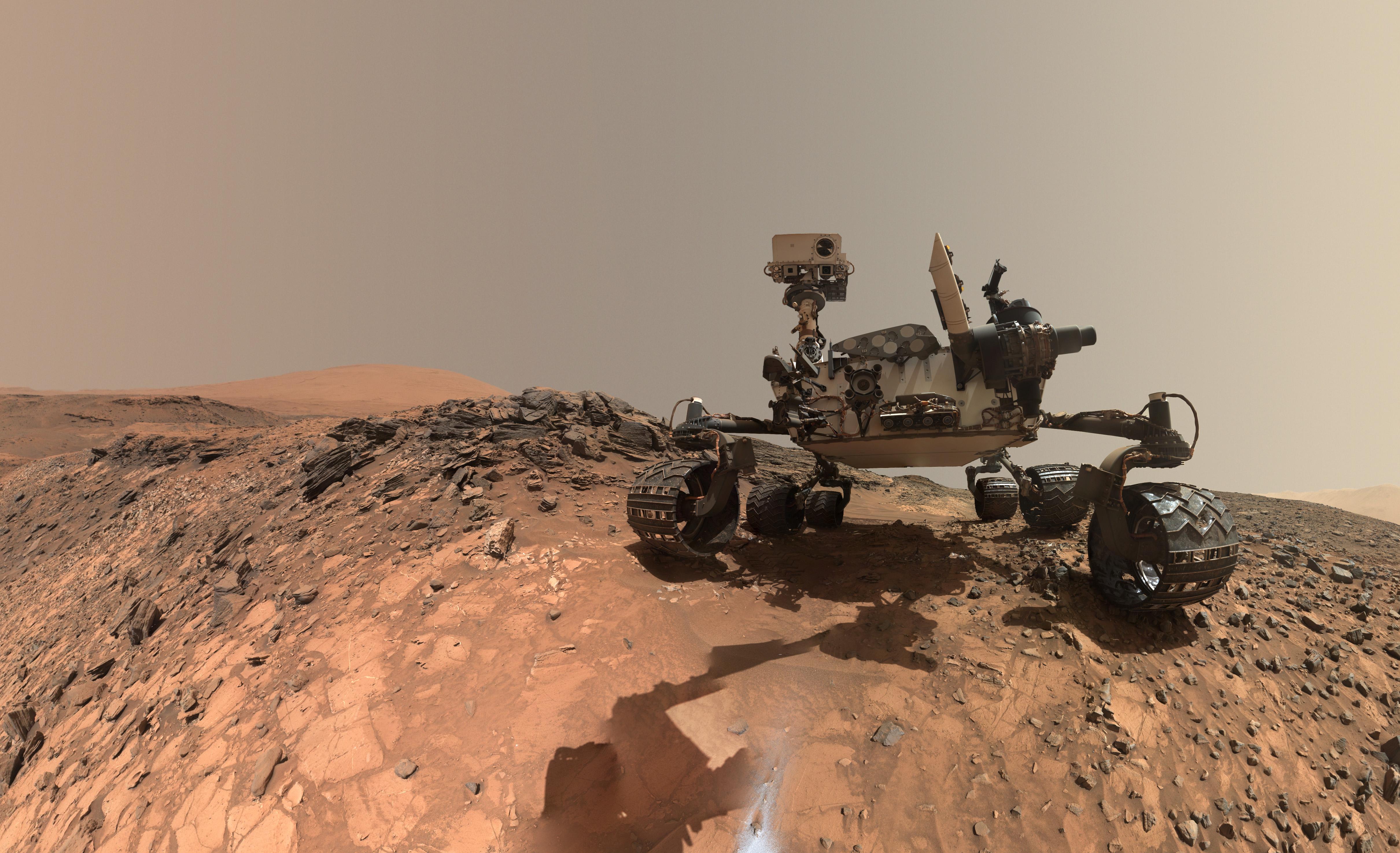 Древнее озеро наМарсе было обитаемым миллионы лет назад— ученые