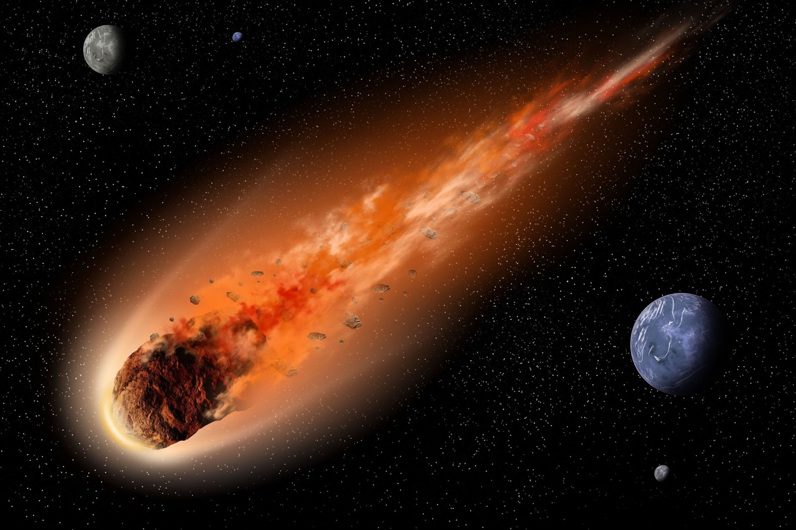 Немалый астероид летит кЗемле