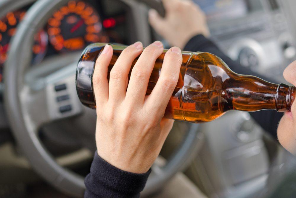 ВБарнауле пьяная автоледи протаранила машину ДПС