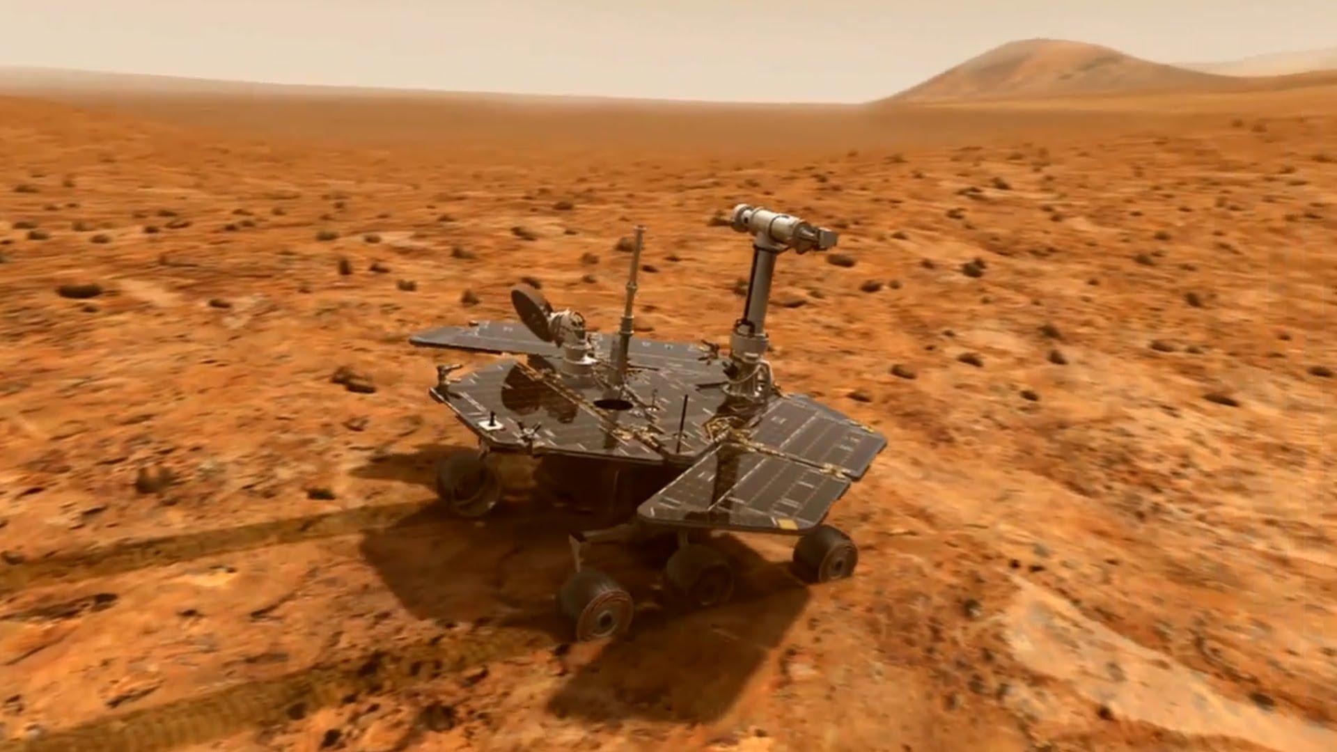 Марсоход Opportunity займется изучением кратера Индевор