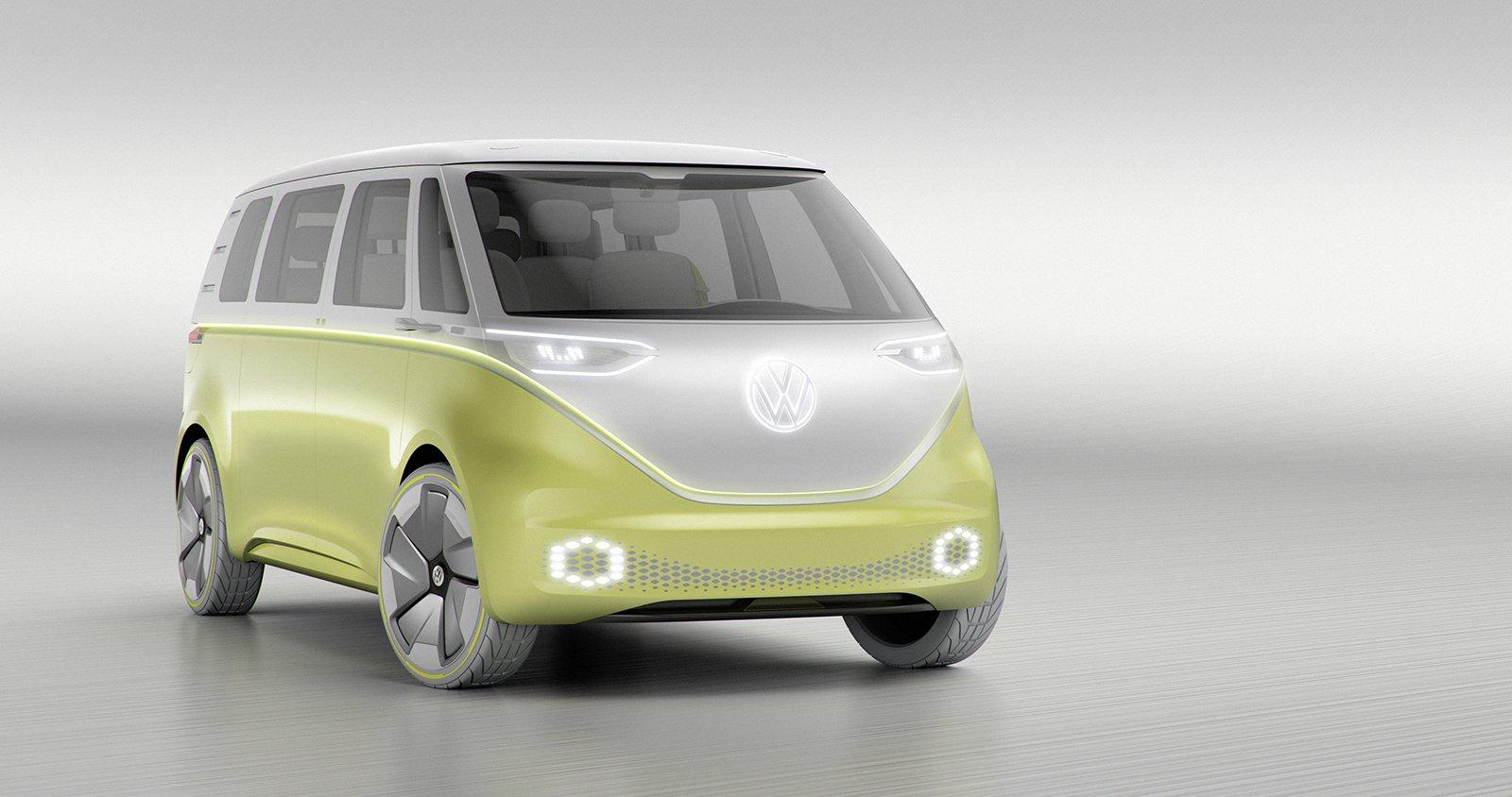 VW запустит всерийное производство модель I. D. Buzz