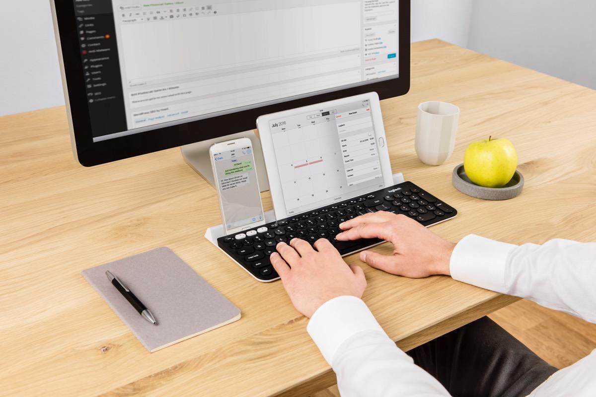 Продажи клавиатуры K780 Multi Device за 7090 рублей стартуют в августе