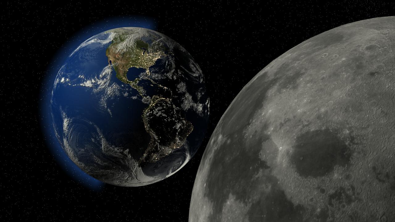 Земля подобно Сатурну со временем обзаведется кольцами