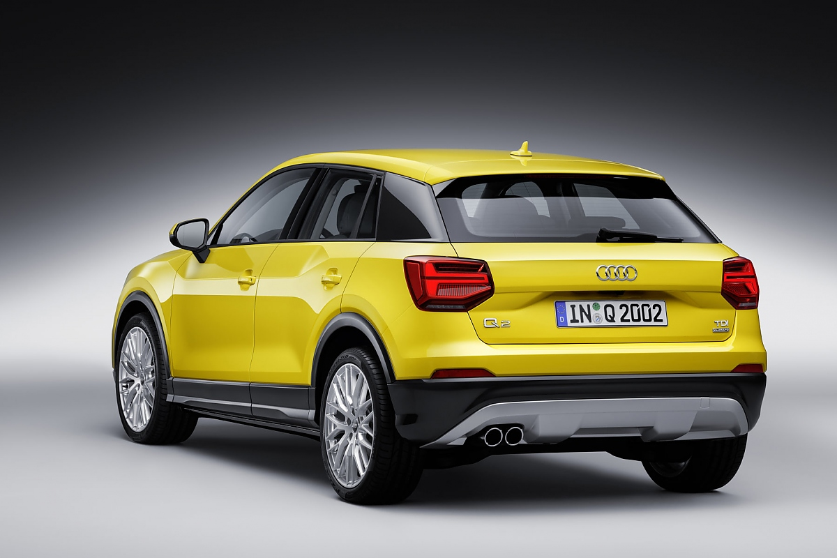 В Ингольштадте началось серийное производство кроссовера Audi Q2