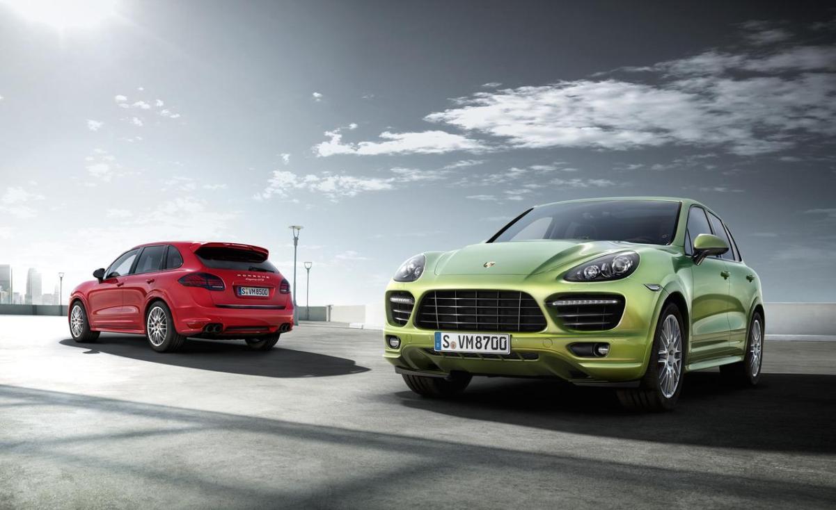 Автостат В России упали продажи внедорожников Porsche