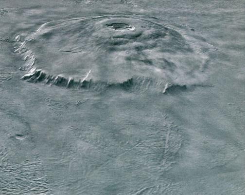 ВNASA отыскали новое «человеческое лицо» наМарсе