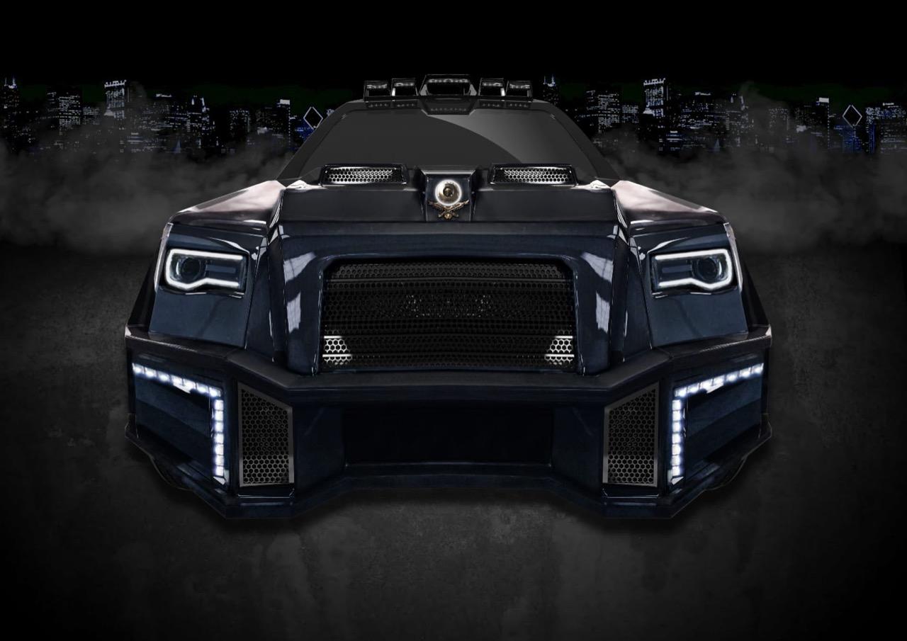 Латвийская компания представила новый внедорожник-«аллигатор»