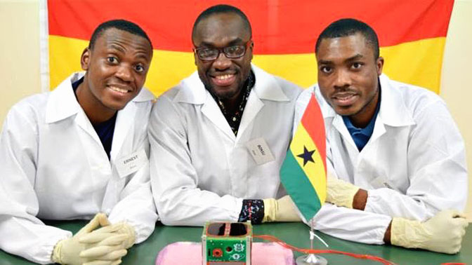 Гана удачно запустила свой 1-ый космический спутник