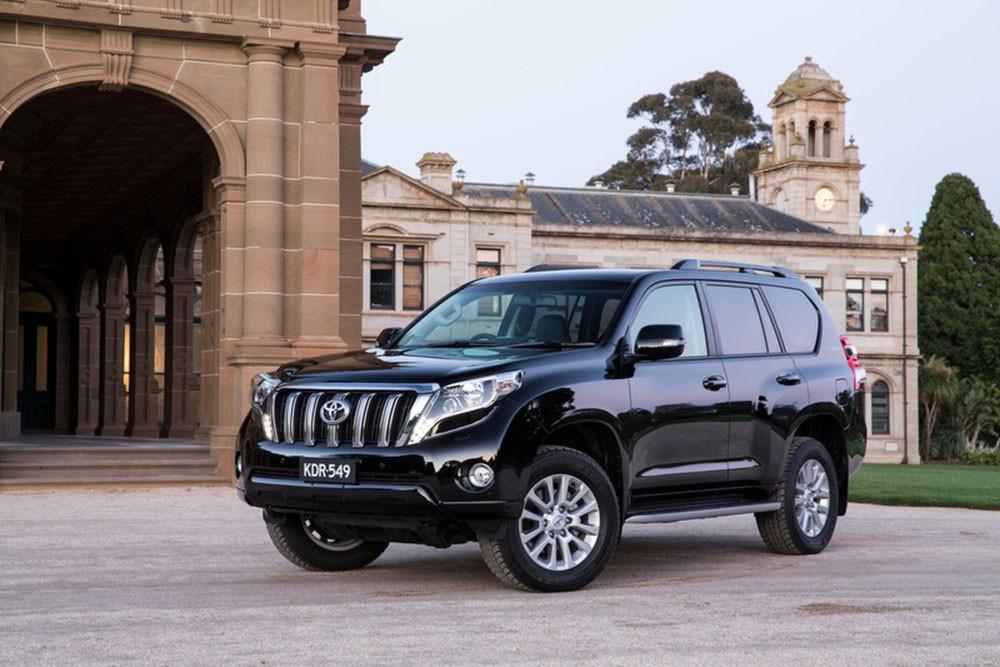 Появились детали  остарте продаж обновленного поколения  Land Cruiser Prado
