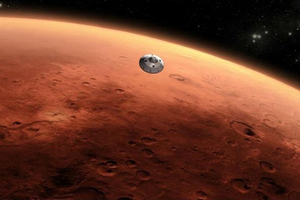 Лед наМарсе появляется ночью— Планетологи