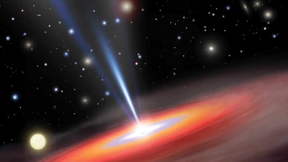 Ученые: темная дыра разорвала звезду на маленькие черточки