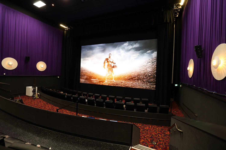 Самсунг представила 1-ый вмире светодиодный кинотеатральный дисплей