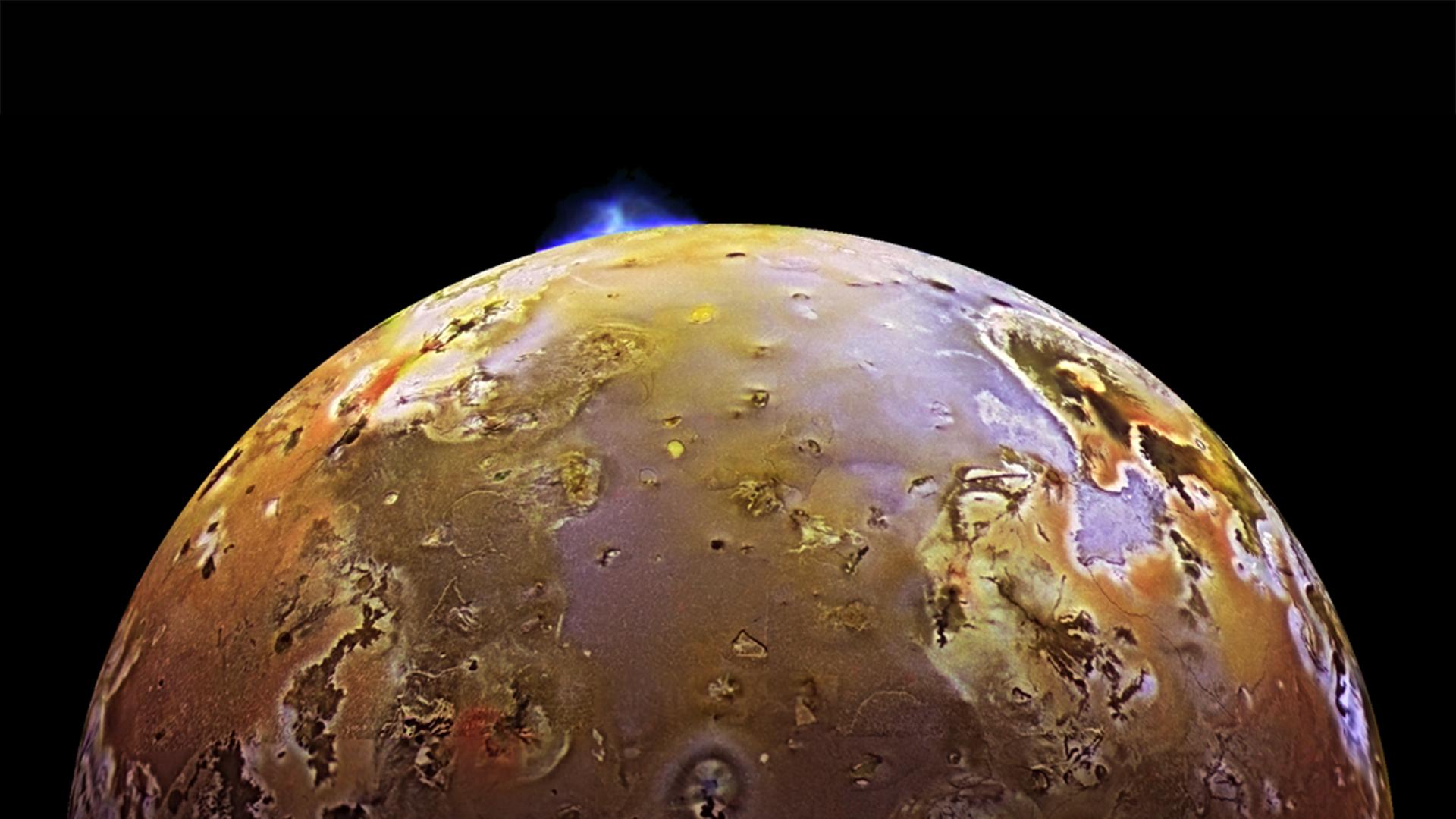 Космический аппарат Juno нашел  очередной  возможный вулкан наспутнике Юпитера Ио