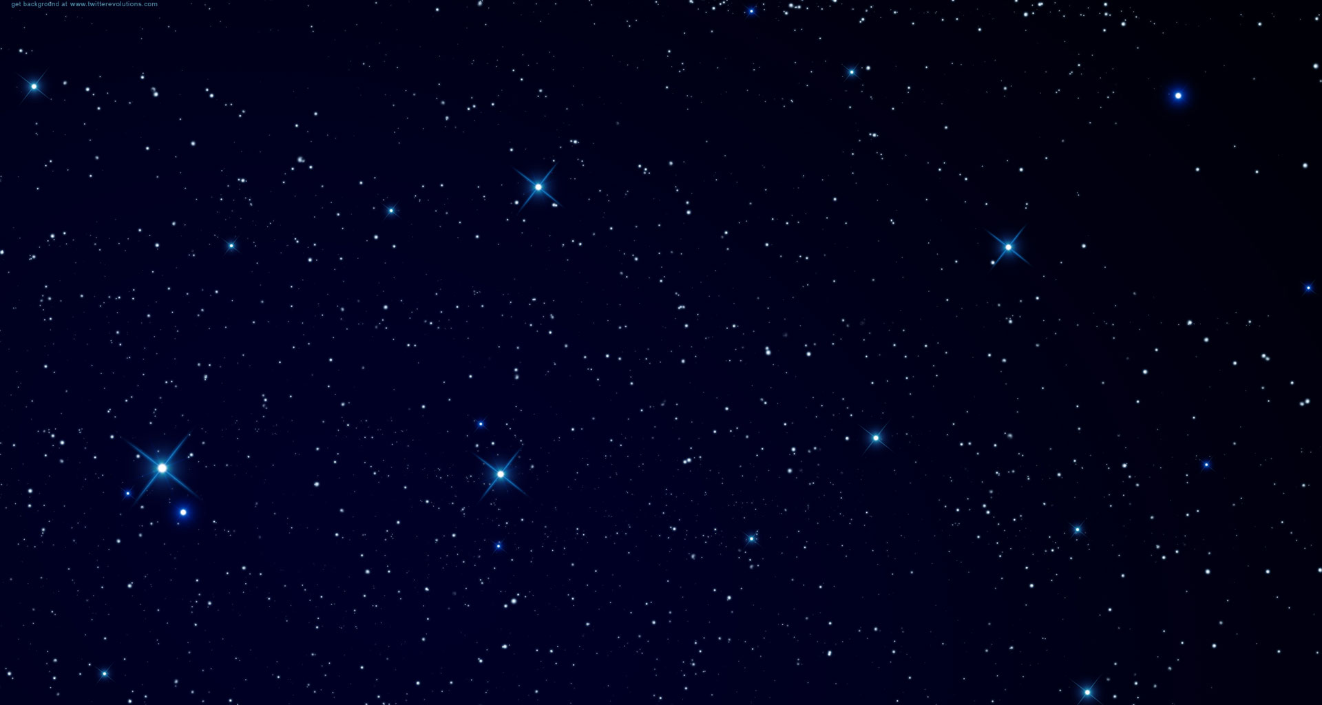 Twitter backgrounds space stars
