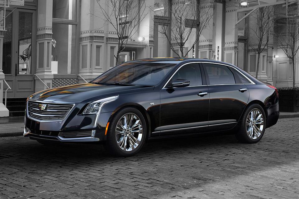 Cadillac представила обновлённый седан CT6