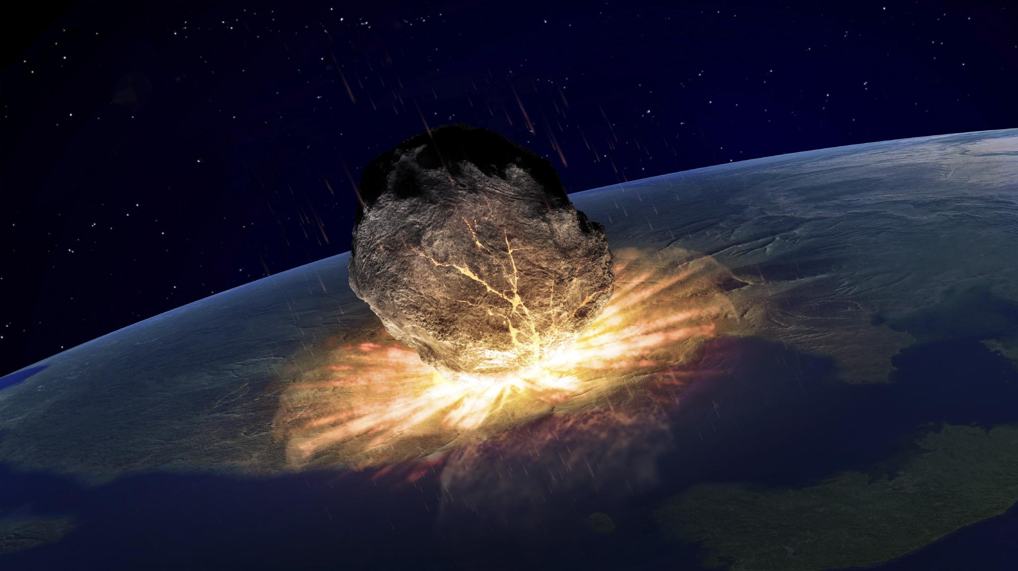 Мимо Земли набольшой скорости пронесется километровый астероид