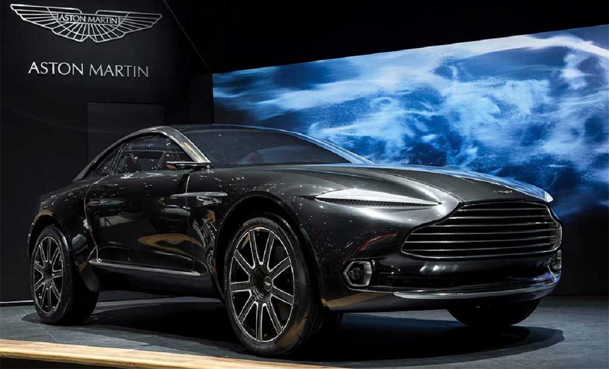 Кроссовер Aston Martin DBX построят на совершенно новой платформе