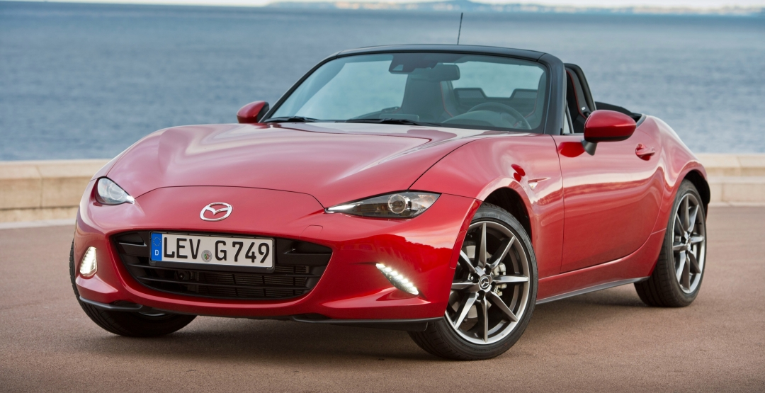 Следующие поколение родстера Mazda MX-5 намерено стать легче