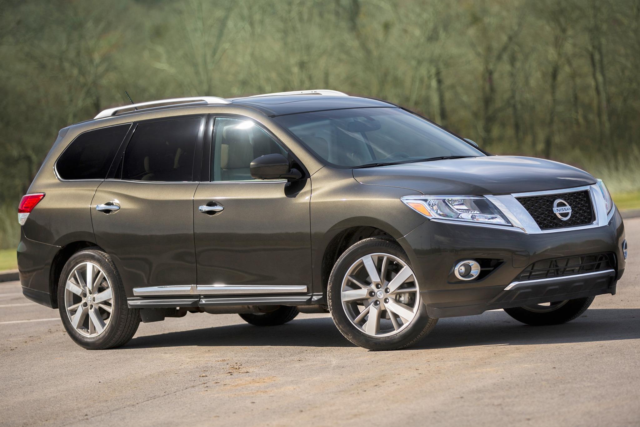 Nissan Pathfinder дебютирует в 2018 году