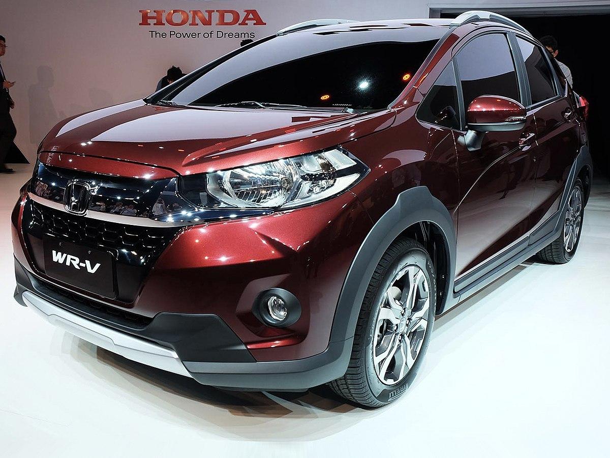 Японцы трудятся над новым Хонда WR-V