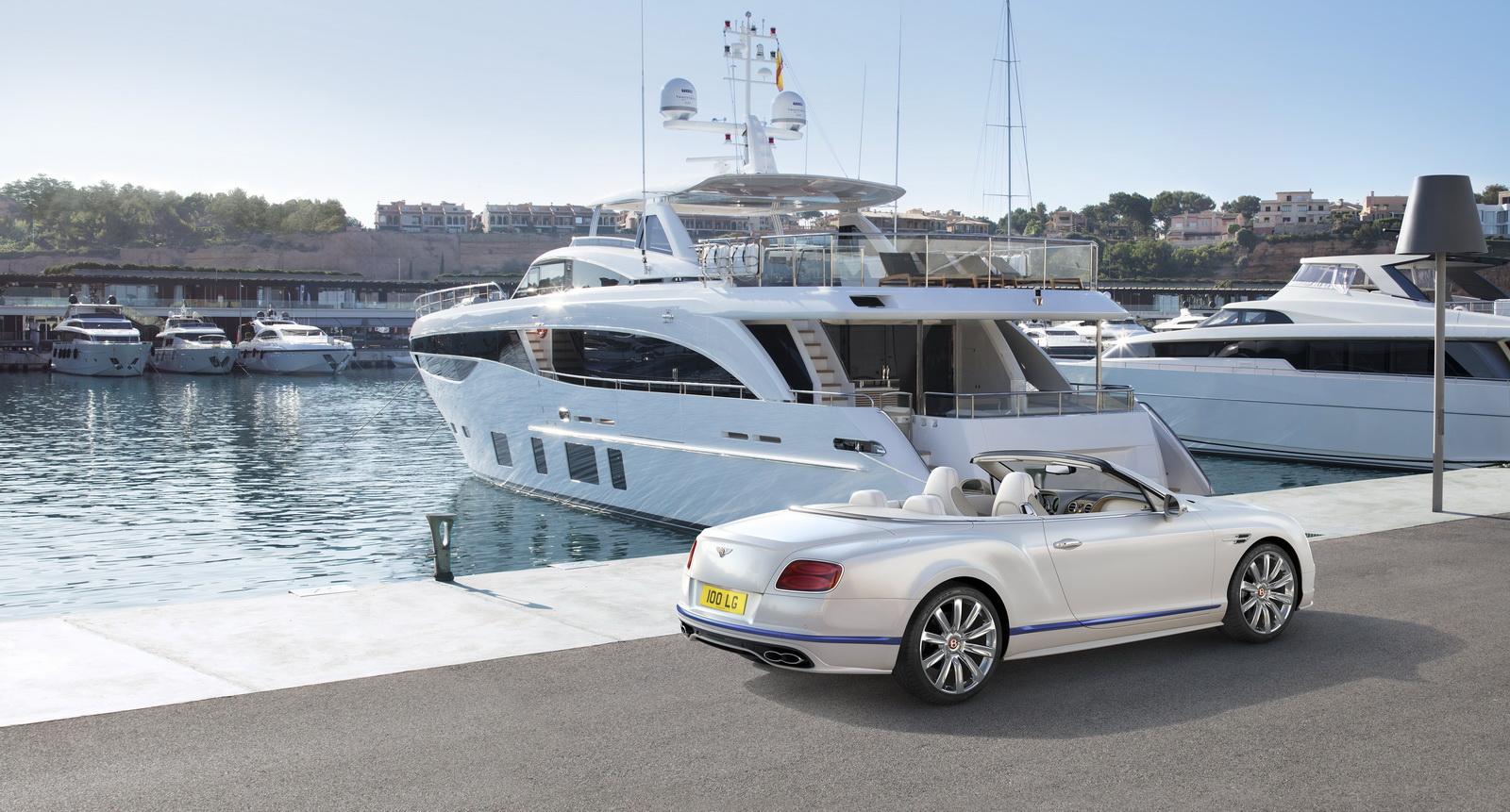 Компания Бентли выпустит серию кабриолетов вчесть греческой богини Галены