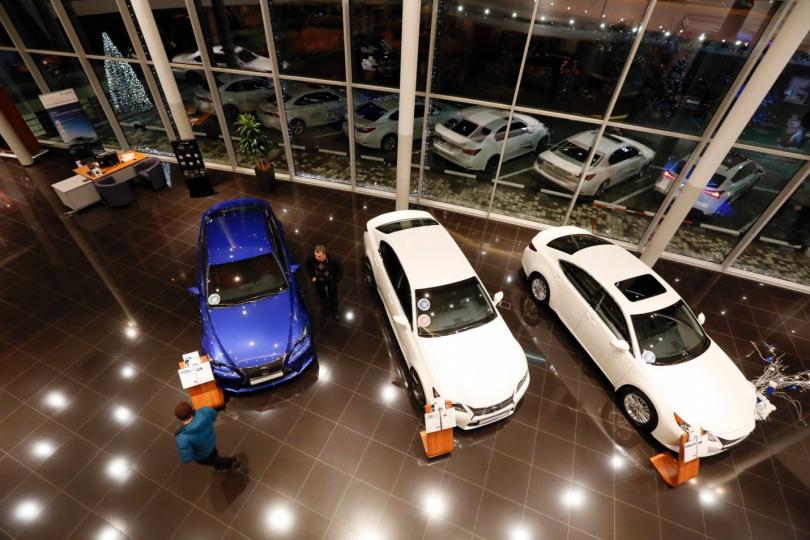 В Российской Федерации начало расти количество автодилеров
