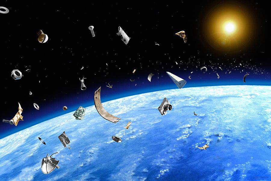 Ученые приняли решение проблему мусора впространстве вокруг Земли— Космический субботник