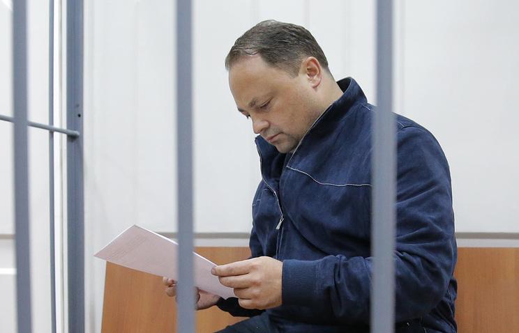 Суд продлил арест главы города Владивостока Пушкарёва доконца ноября