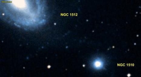 Телескоп Hubble нашел во Вселенной'Давида и Голиафа