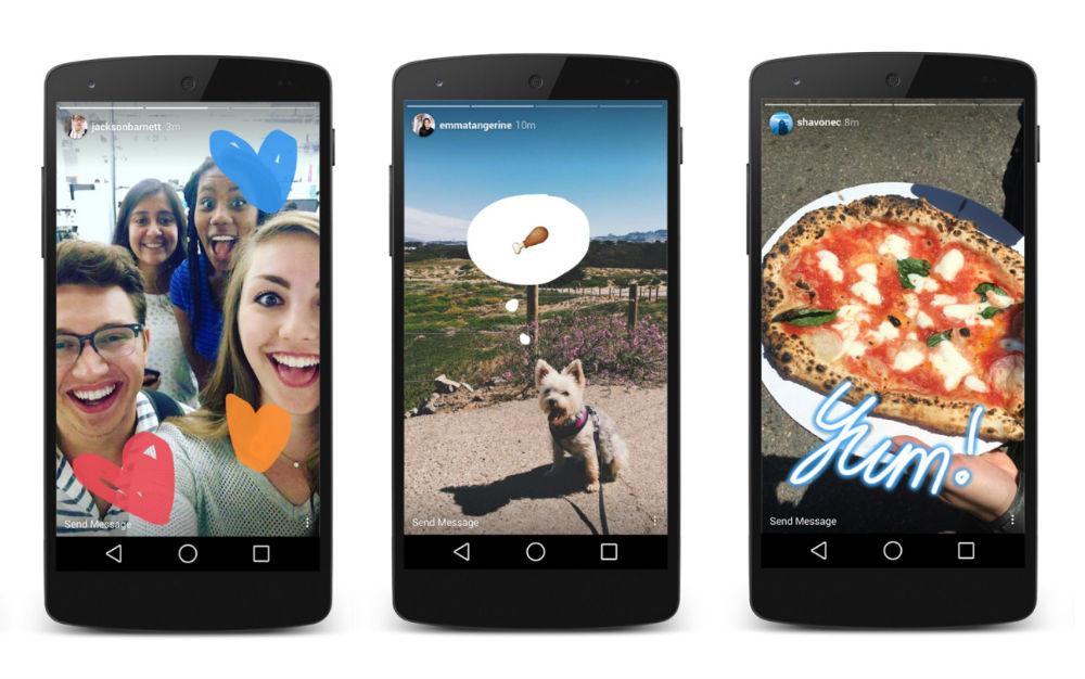 В социальная сеть Instagram введут новый раздел Stories