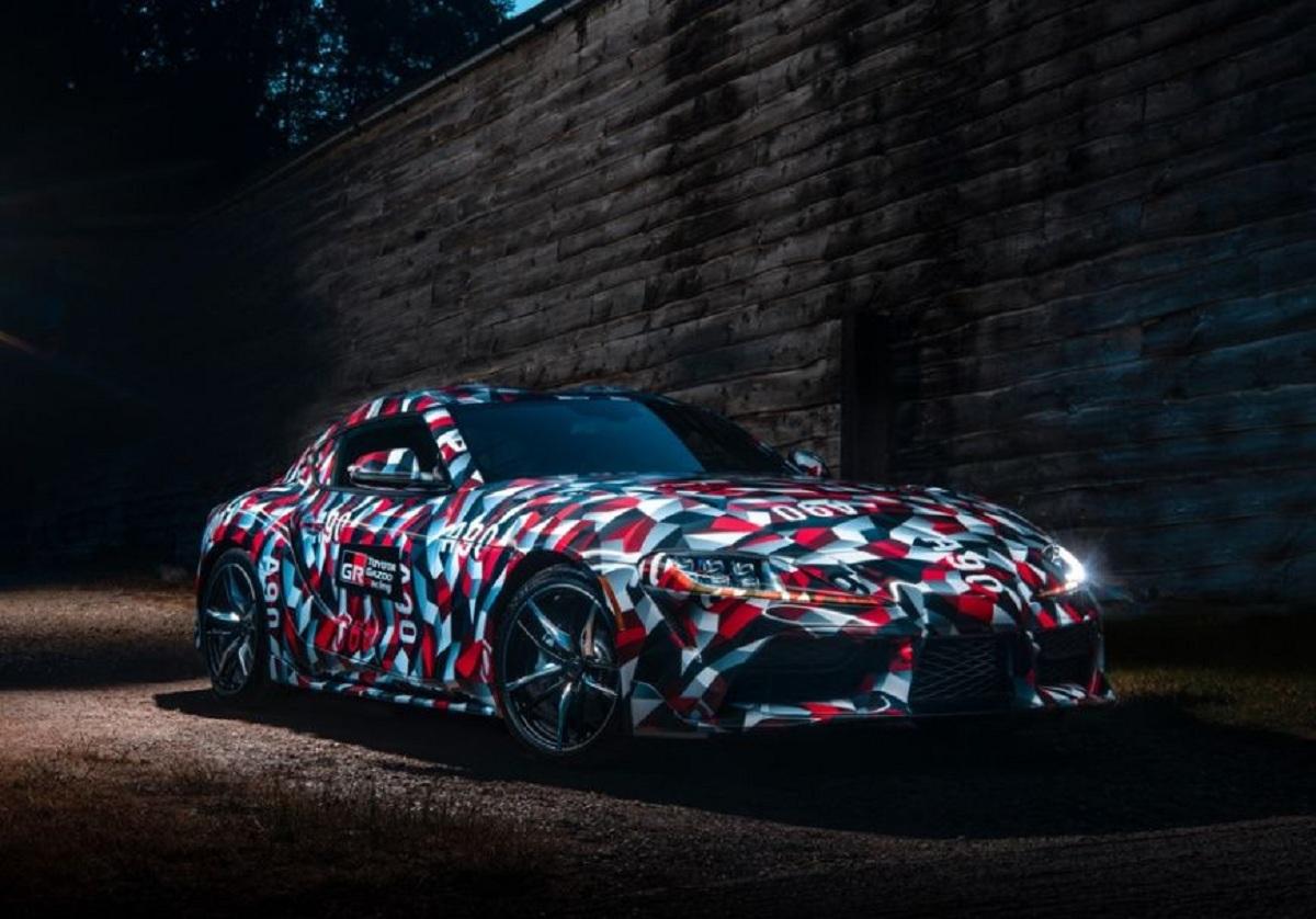 Новая версия Toyota Supra готовится к дебюту