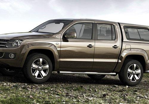 Volkswagen готовит внедорожник на базе пикапа Amarok