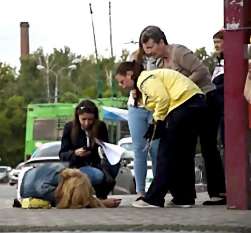 Около дома наТашкентской вСамаре отыскали окровавленную девушку без сознания