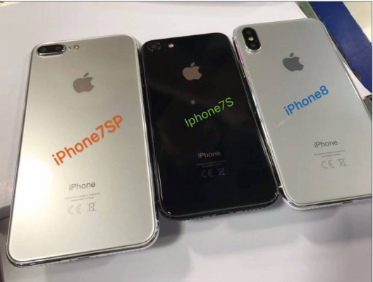 Вглобальной сети  появились «живые» фотографии  новых моделей iPhone