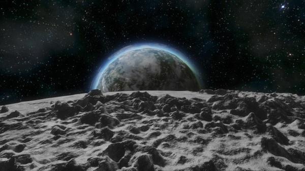 ВNASA показали необычайный снимок Земли, сделанный сЛуны в 1966-ом
