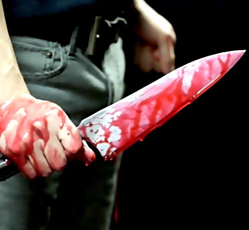 Петербуржец полосанул сына ножом поживоту впроцессе пьянки на бойца Корзуна