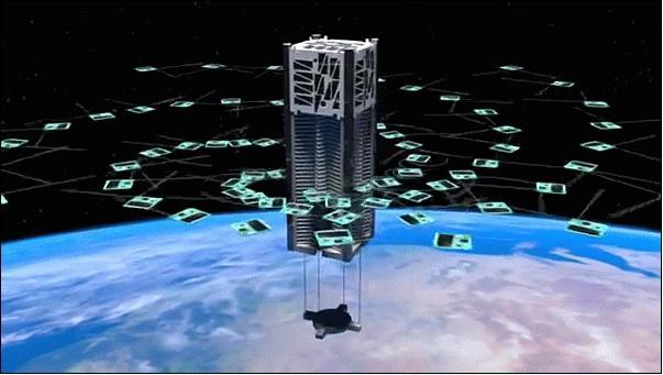 Самый небольшой зонд вмире Sprite сказал наЗемлю знак