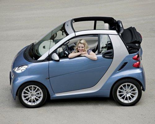 Продажи автомобилей Smart в России выросли на 123 процента