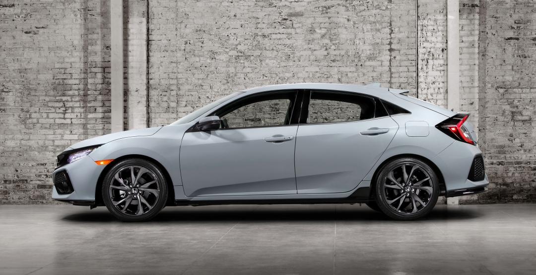 Хонда представила серийную версию хэтчбека Civic