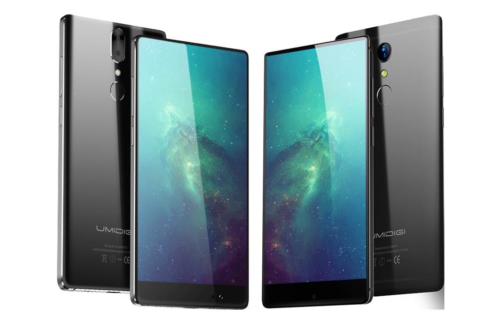 UmiDigi начинает продажи стодолларового безрамочного смартфона Crystal