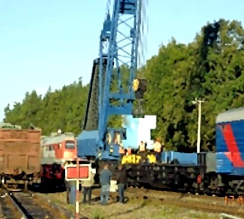 Нажелезнодорожной станции города Клинцы сошел срельсов грузовой состав: пострадавших нет