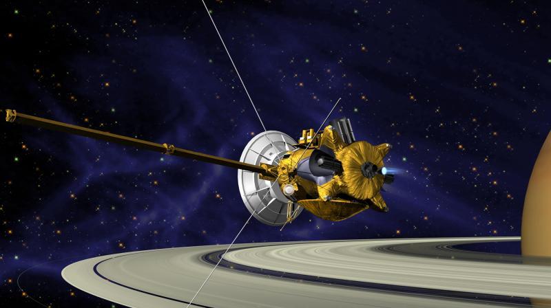 Космический аппарат'Кассини впервые вошёл в атмосферу Сатурна