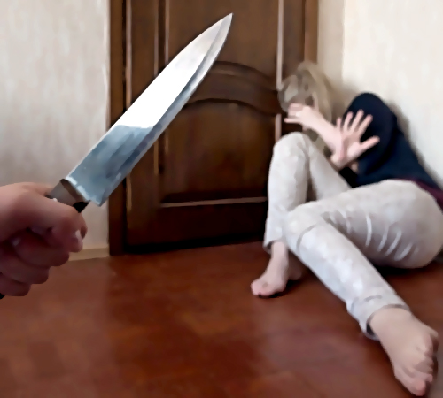 ВКемерово рецидивист порезал женщине лицо