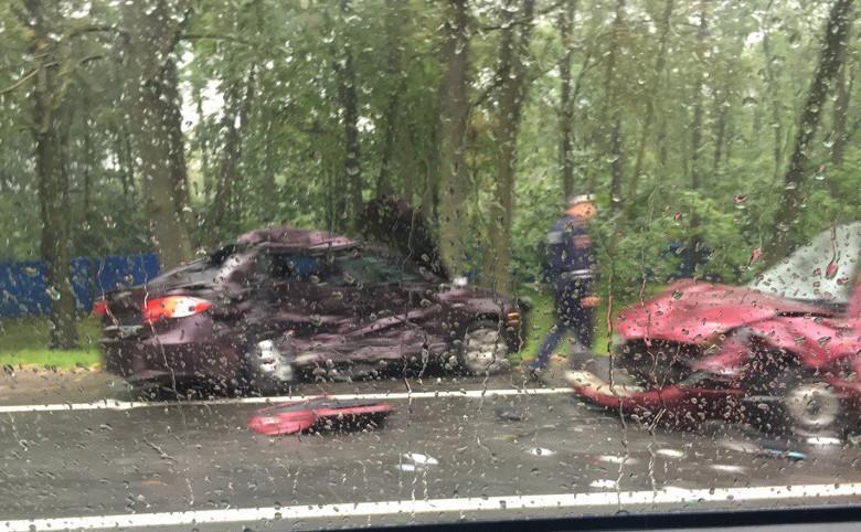 ДТП синомарками наСанкт-Петербургском шоссе забрало жизнь женщины