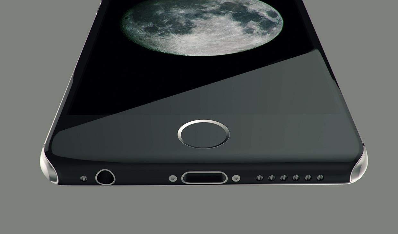 Apple лишит iPhone домашней кнопки в 2017г.